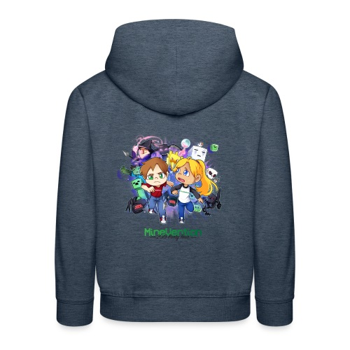 MineVention 2019 Party Tour - Kids' Premium Hoodie