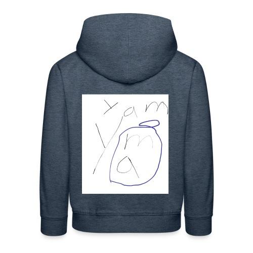 Yam yam t-shirt - Kinder Premium Hoodie