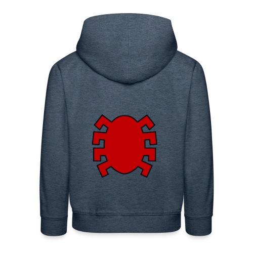 spiderman back - Kids' Premium Hoodie