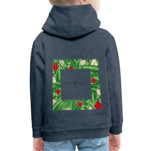 Urban Jungle | Tropical Square - Kinder Premium Hoodie