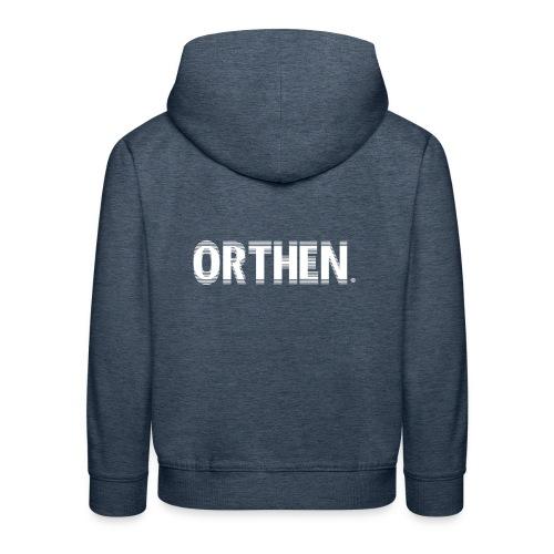 Orthen Nervous - Kinderen trui Premium met capuchon