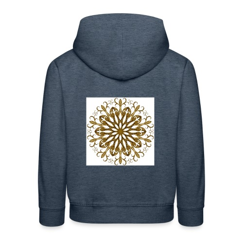 gold-filigree - Kinder Premium Hoodie