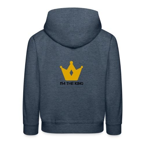 Kuningas - Lasten premium huppari