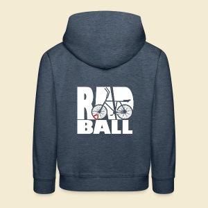 Radball   Typo - Kinder Premium Hoodie