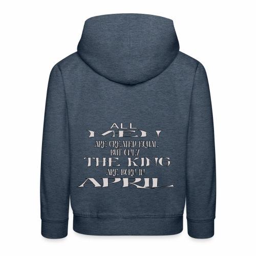 KING AVRIL - Pull à capuche Premium Enfant