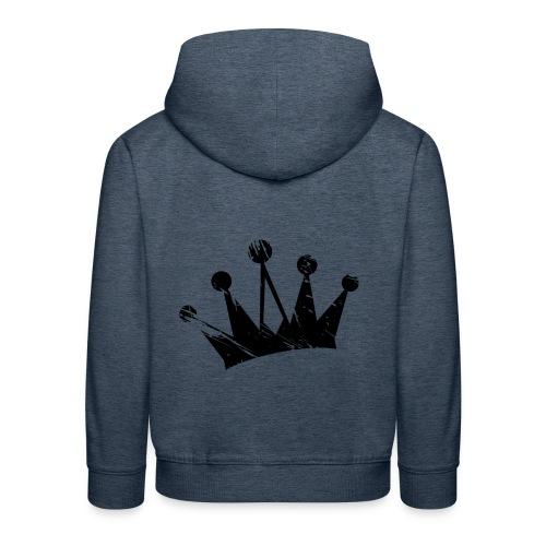 Faded crown - Kids' Premium Hoodie