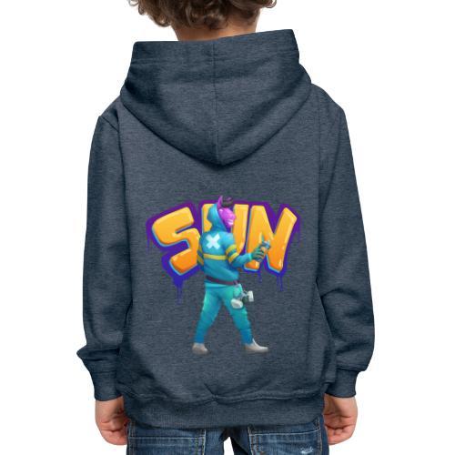Suntted Graffeur - Pull à capuche Premium Enfant
