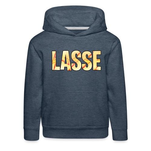 Lasse - Premium Barne-hettegenser