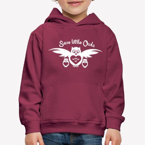 Save little Owls - Kinder Premium Hoodie