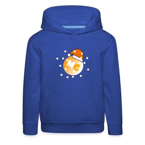 mg jule edition - Premium hættetrøje til børn