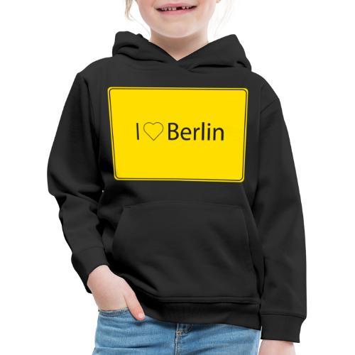 I love Berlin - Kinder Premium Hoodie