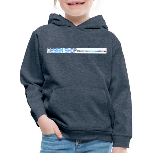 ny logo lang - Premium Barne-hettegenser