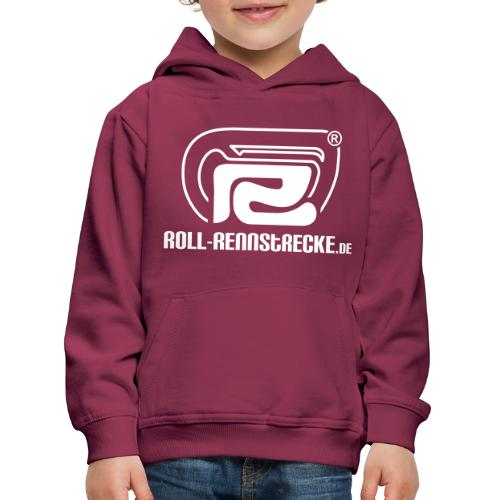 Roll-Rennstrecke Logo - Kinder Premium Hoodie