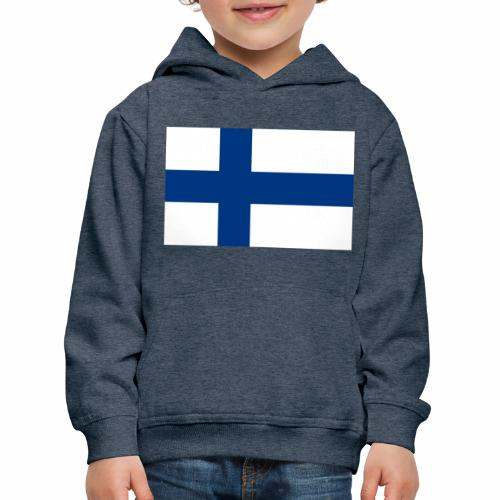 Suomenlippu - tuoteperhe - Lasten premium huppari