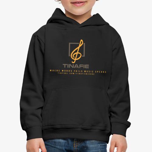 Where Words fails Music speaks!!! - Premium hættetrøje til børn