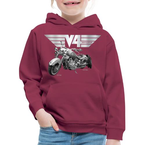 Royal Star silver Wings - Kinder Premium Hoodie