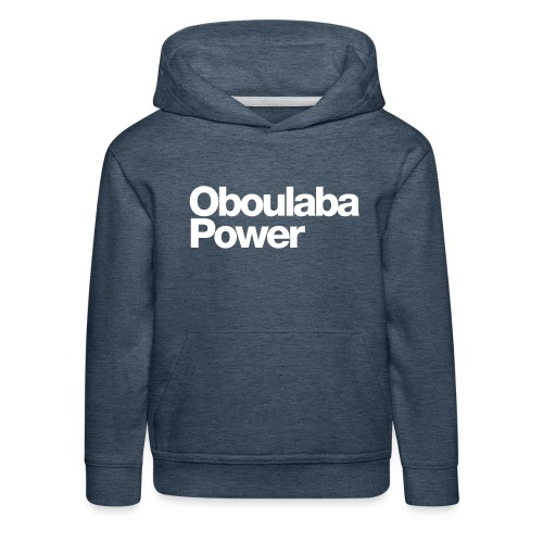 Oboulaba Power - Pull à capuche Premium Enfant