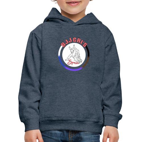 BJJGIRLSPAIN - Sudadera con capucha premium niño
