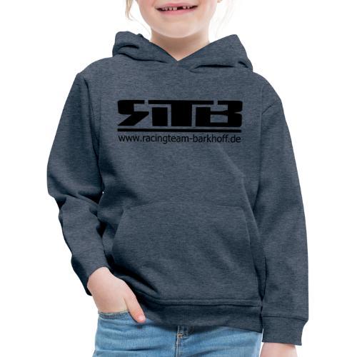 RTB Logo Clean (Schwarz) - Kinder Premium Hoodie