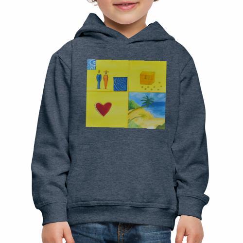Viererwunsch - Kinder Premium Hoodie