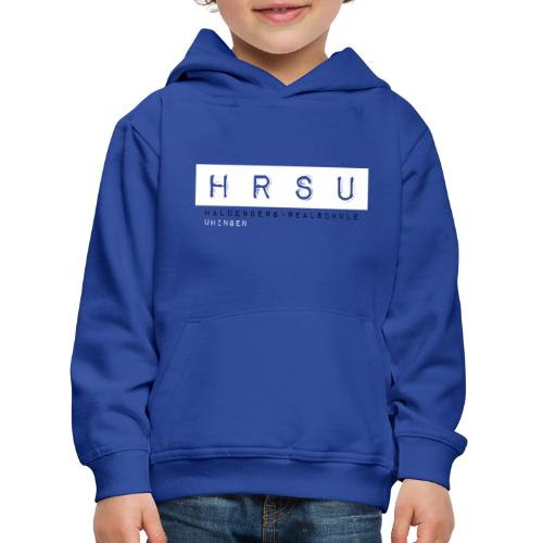 HRSU Wear Tape Red Big white - Kinder Premium Hoodie