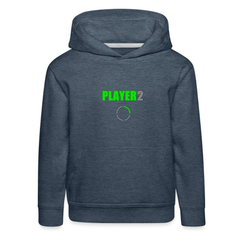 PLAYER 2 Videojuegos - Sudadera con capucha premium niño