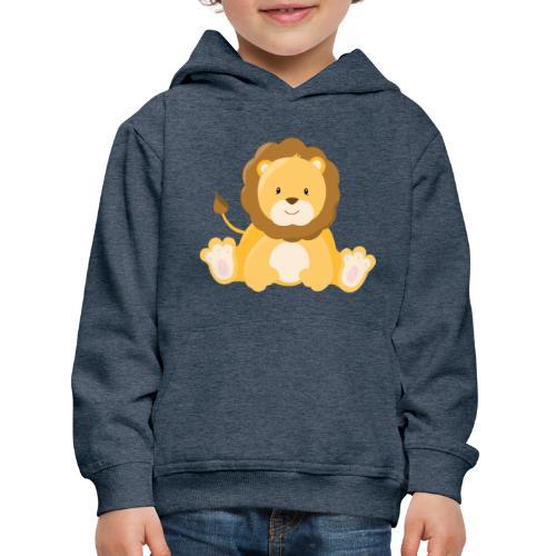 SAFARI Löwe - Kinder Premium Hoodie