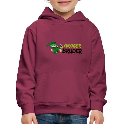 Ninja - Großer Bruder - Kinder Premium Hoodie