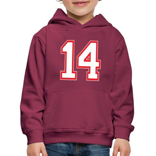 DANNIEB 14 - Felpa con cappuccio Premium per bambini
