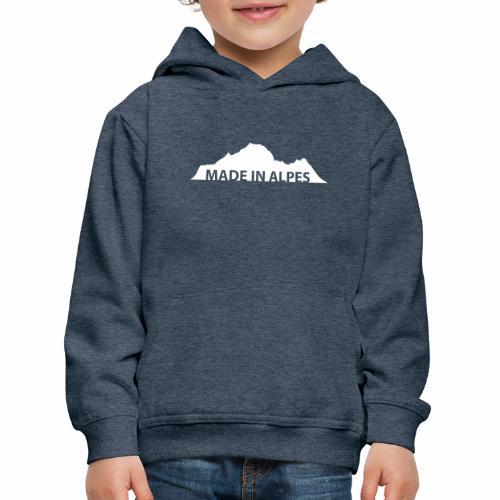 Made in Alpes - Pull à capuche Premium Enfant
