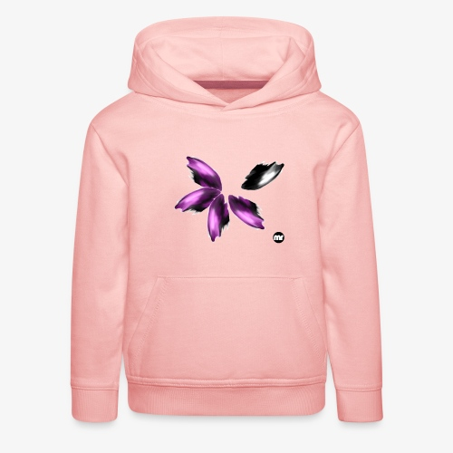 Sembran petali ma è l'aurora boreale - Felpa con cappuccio Premium per bambini