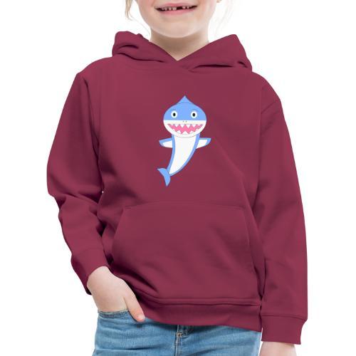 Sharky - Sudadera con capucha premium niño