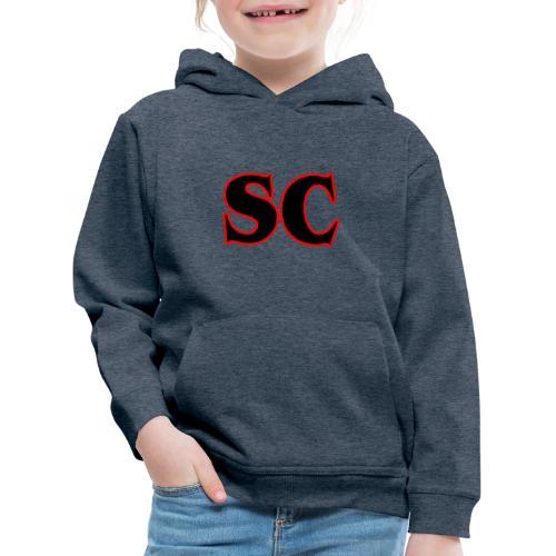 Classic StrangeCommunity logo - Kinderen trui Premium met capuchon