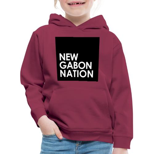 NGN design black - Pull à capuche Premium Enfant