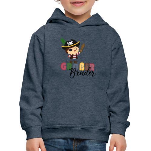 Großer Bruder Piraten - Kinder Premium Hoodie