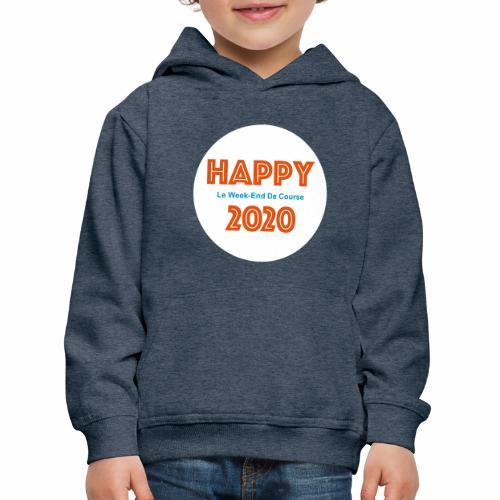 Happy 2020 - Pull à capuche Premium Enfant