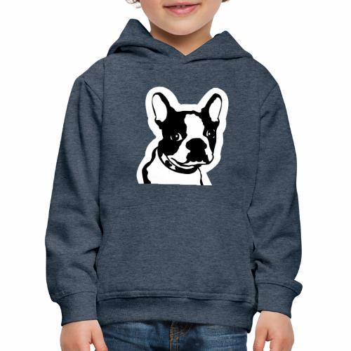 Bulldog francés - Sudadera con capucha premium niño