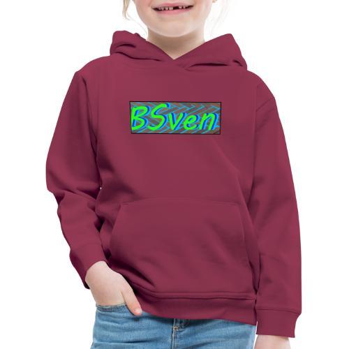 logo yt ttv BSven - Kinderen trui Premium met capuchon