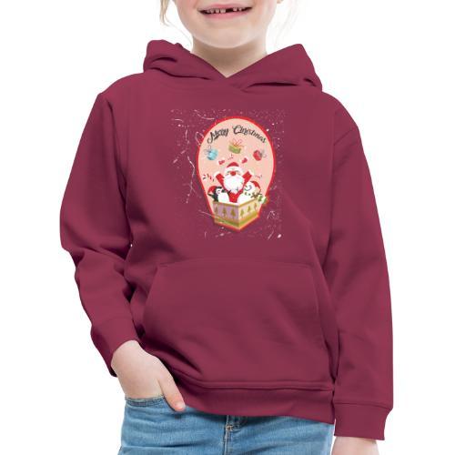 Merry Chrismas1 - Pull à capuche Premium Enfant
