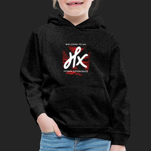 welcome to my human experience - Pull à capuche Premium Enfant