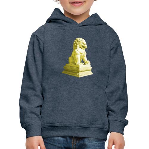 Fu Hund Tempelwächter Wächterlöwe Buddha China - Kinder Premium Hoodie