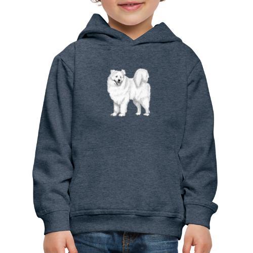 samoyed - Premium hættetrøje til børn