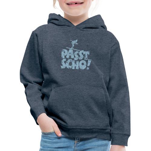Passt Scho! Après-Ski T-Shirt (Damen/Navy) - Kinder Premium Hoodie