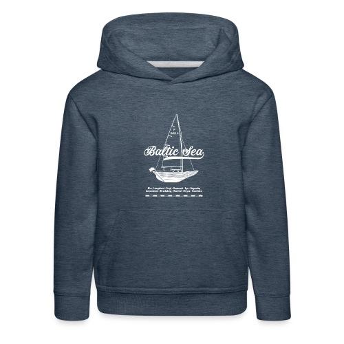 Baltic Sea Folkeboot - Kinder Premium Hoodie