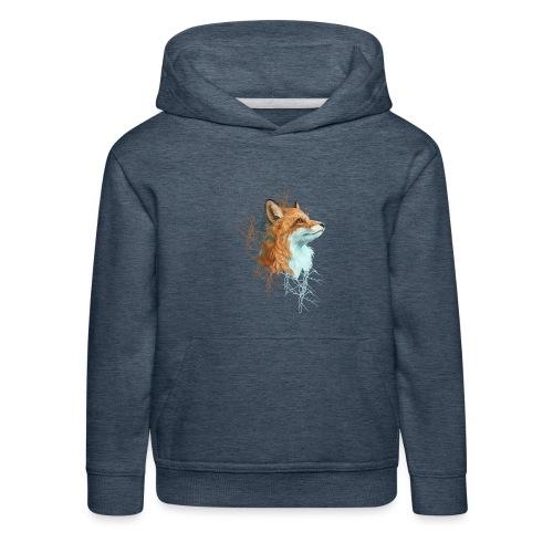Happy the Fox - Kinder Premium Hoodie