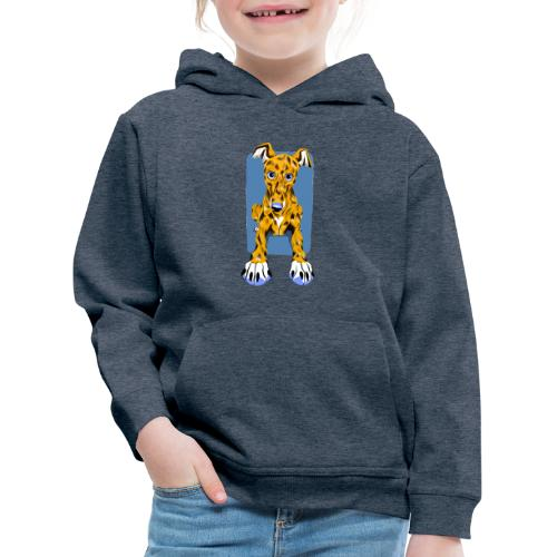 HUG Greyhound Pup - Kids' Premium Hoodie