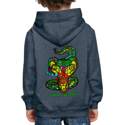 Parvati Records Cobra by Juxtaposed HAMster - Kids' Premium Hoodie