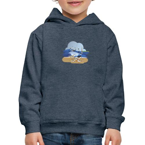 See... birds on the shore - Kids' Premium Hoodie