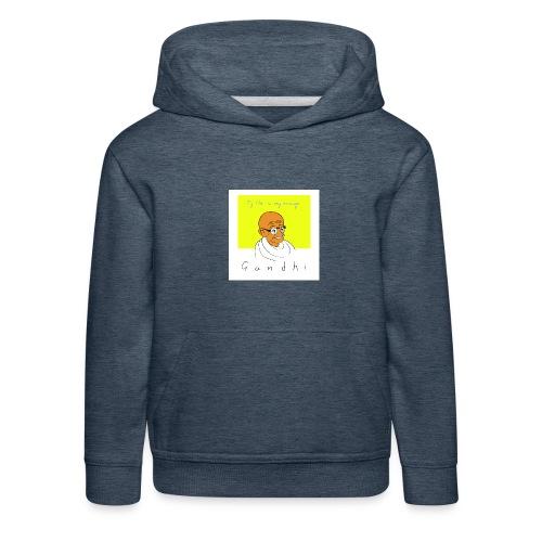 Gandhi - Kinder Premium Hoodie
