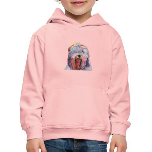 schapendoes - Premium hættetrøje til børn